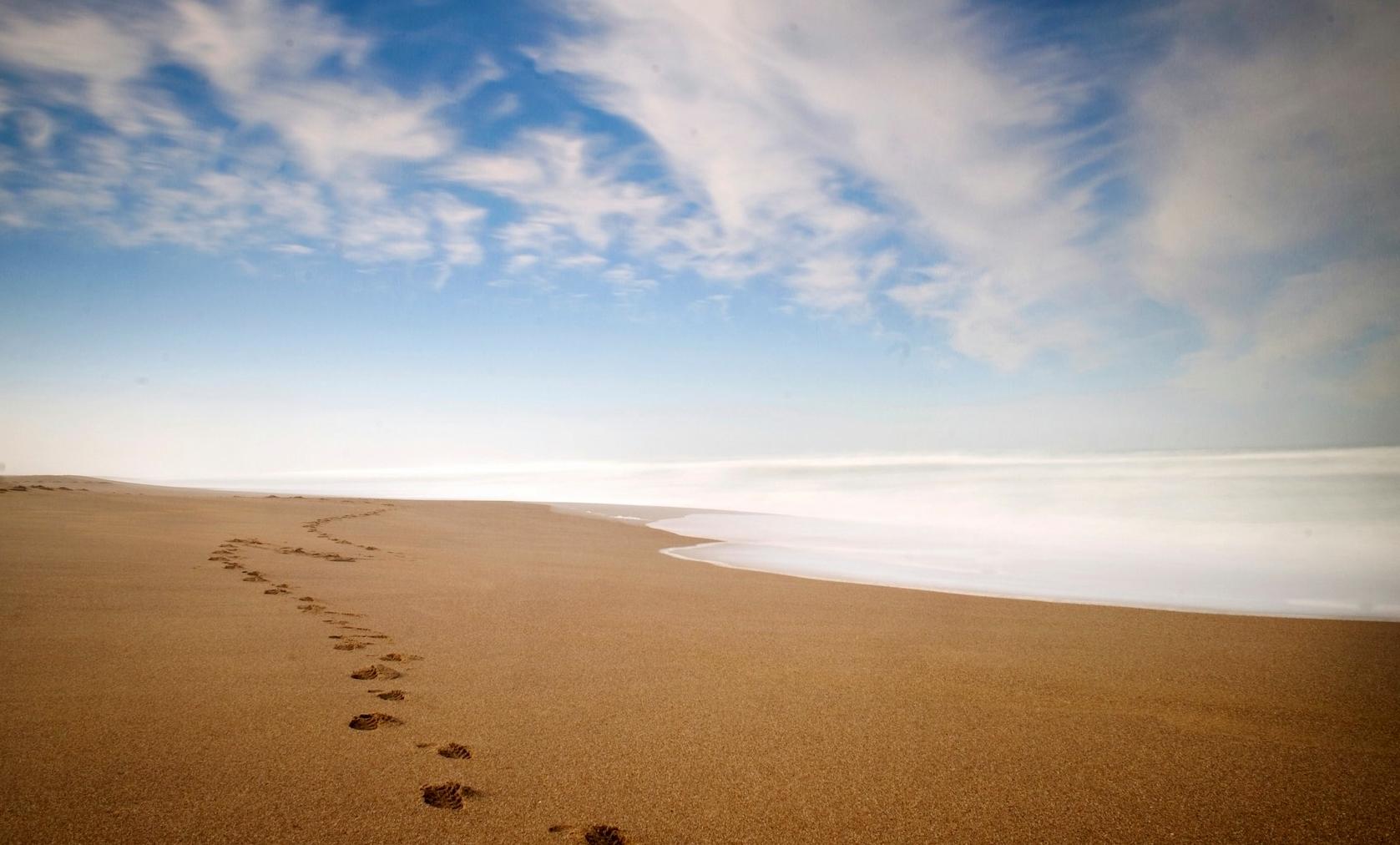 Escritura De La Mano Te Amo En La Arena Y La Playa Imagen: Poemas Desde El Vacío